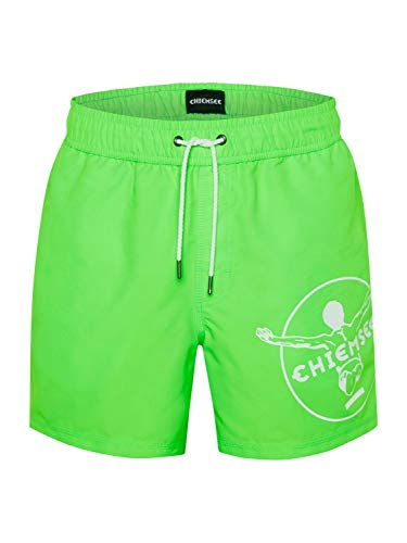 Chiemsee - Pantaloncini da Bagno da Uomo, Uomo, Pantaloncini da Nuoto, 23194401, Geco Verde, XXL