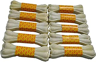BOW WOW Pet Food Dog/Puppy Chew Bone 5 inches - Pack of 10