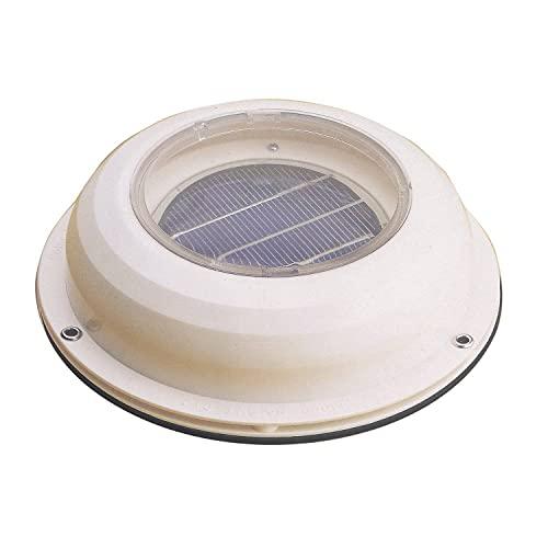 Inovtech - Aérateur Solaire (Extracteur) - Couleur : Blanc