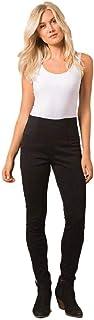Simply Noelle Ponte Straight Pant in Black