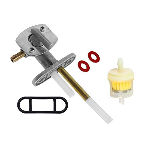 Shnile Fuel Valve Petcock Assembly compatible with Yamaha YFM660R Raptor 660 Replace 5LP-24500-01-00
