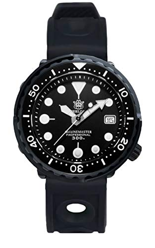 Steeldive SD1975X, Atuna 2020ver, NH35, AR Zafiro, Lume, Negro, 300m Diver, BNIB