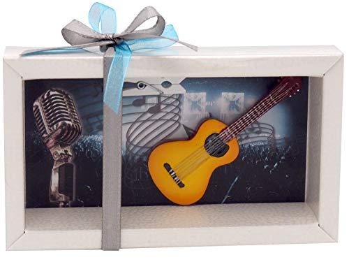 ZauberDeko Geldgeschenk Verpackung Konzert Musik Gitarre Gutschein Geschenk Show Konzertticket