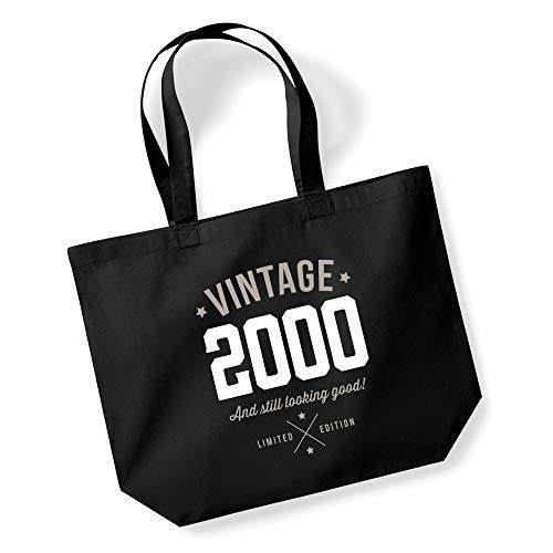 Design, Invent, Print! 21st Birthday, Keepsake, Gift, Looking Good, Ladies, Shopping Bag, Present, Tote Bag, Gift Idea (Black)