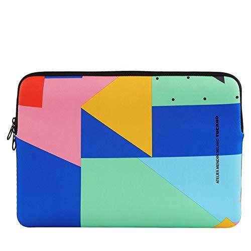 Tucano - Shake Second Skin Custodia in Neoprene per Laptop 13' And MacBook Air 13' Multicolore
