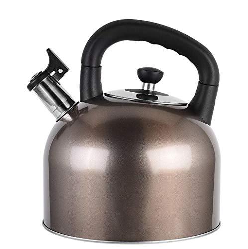 4L / 5L6L Bouilloire 304 Acier Inoxydable Ménage Automatique Sifflet Pot Cuisinière À Cuisinière À Gaz Universel (taille : 6L)