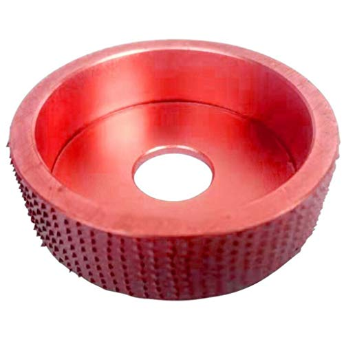 KunmniZ Round Grinding Wheel Sanding Power Wood ving Rotary Tool Abrasive Disc Cutter,Red