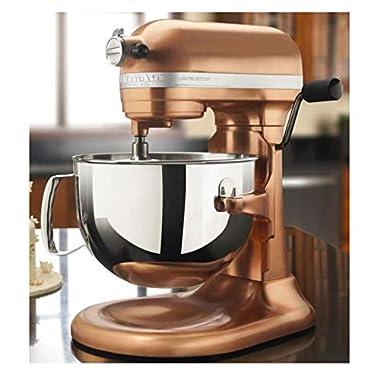 KitchenAid 6 Quart Pro Stand Mixer 600 Series Kp26m1xcp, Satin Copper Polished Metal