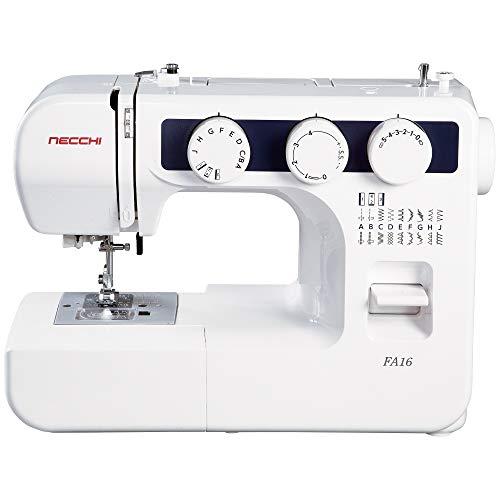 Necchi FA16 Sewing Machine, White