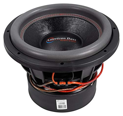 """American Bass HD12D1 12"""" Dual 1 Ohm Competition Car Stereo Subwoofer"""