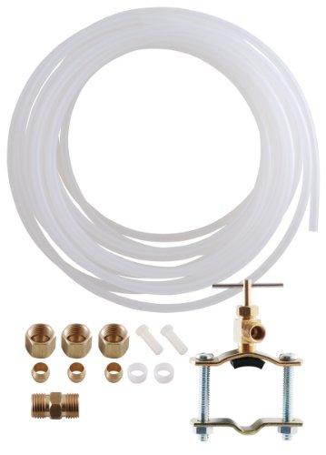 LDR Industries 509 5100 Eismaschine und Luftbefeuchter, Installations-Kit 1/4 Zoll x 7,6 m flexibler Schlauch für Trinkwasserfiltersystem, Polyschlauch