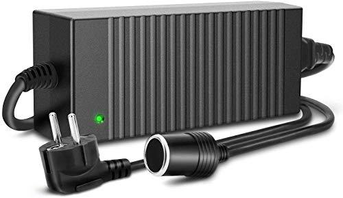 Trehai Spannungswandler - 10A 120W Netzteil KFZ Netzadapter Wechselrichter Wandler 100V/110V-220V/230V/240V auf 12V AC DC Adapter