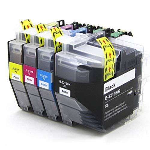 LC3217 3217 LC3219XL 3219 Cartuchos de tinta de repuesto para impresoras Brother MFC-J5330DW MFC-J5730DW MFC-J5930DW MFC-J6530DW MFC-J6930DW MFC-J6935DW MFC-J5335DW, color 1 juego. size