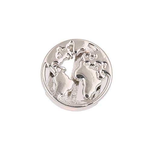 LUXERY Charms Anhänger Individuelle Charm austauschbar für Edelstahl Armband Damen Schmuck selber gestalten Mesh Silber Schmuck Frauen