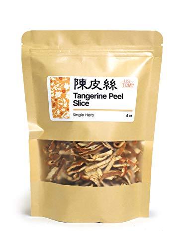 NEW PACKAGING Tangerine Peel Slice Orange Peel Slice 陳皮絲 4 Oz