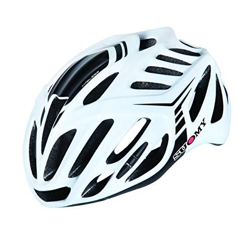 Suomy Casco bici Timeless bianco / nero taglia L (Caschi MTB e Strada) / Road helmet Timeless white / black size L ( Mtb and Road Helmet)