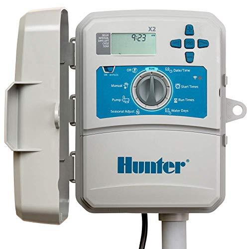 Hunter Company Hydrawise X2 6-Station Bewässerungsregler für den Außenbereich (X2-600)