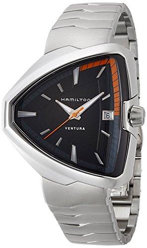 HAMILTON reloj Ventura Elvis80 Fecha H24551131 Hombres [bienes importados regulares]