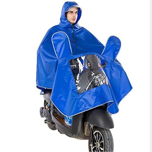 Hermoso chubasquero para motocicleta y coche eléctrico, para adultos sueltos de gran...