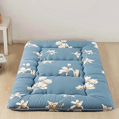 DNGDD Colchón de futón japonés Tradicional para Dormir, tapete de Tatami, Protector de colchón, colchón de Tatami Individual Doble, colchón de Dormitorio, 0,9 m × 2 m (35 Pulgadas × 78 Pulgadas)