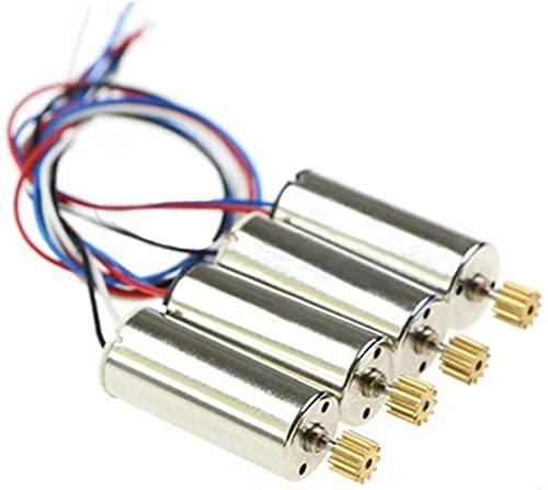 VSLIFE 4PCS Motori elettrici CW CCW per Hubsan X4 H502S H502E Ricambi per quadricottero, Accessori di Ricambio RC Durevole