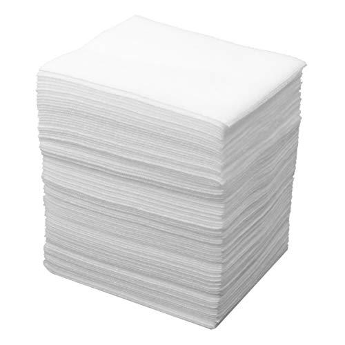 TENDYCOCO 100 st medicinska icke-vävda gasbindor svamp för sårvård första hjälpen-tillbehör medicinska produkter 20 x 20 cm Size 2 Vitt