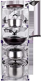 Metal Storage RackMulti-use Kitchen Cabinet And Counter Shelves Storage Organizer Rack ,kitchen Pot Rack, Three Or Five Mu...