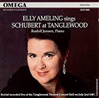 Elly Ameling sings Schubert at Tanglewood (1988-07-28)