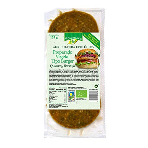 Ynsadiet Hamburguesa Vegana Quinoa 160 Gr. Ynsadiet 160 g