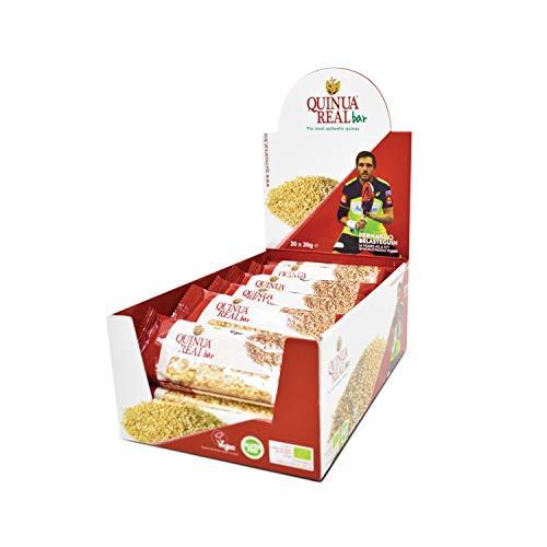 Quinua Real Riegel aus reiner Quinoa Real ohne Gluten BIO (Box mit 20 Stück), 400 ml