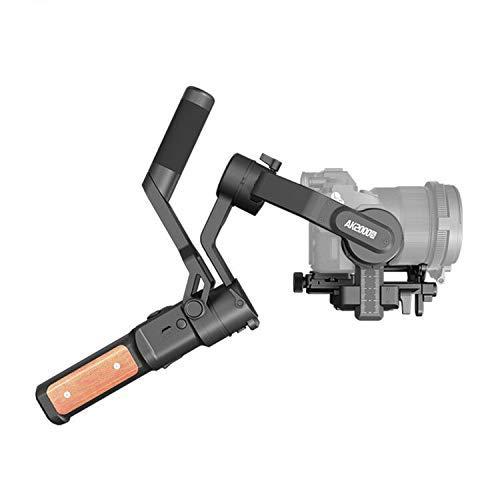 FeiyuTech Official AK2000S Handheld Gimbal DSLR Camera Stabilizer Fits Sony a6300 a6400 a6500 a6100 a6600 Canon EOS 80D M50 EOS 90D Panasonic GH5S Fujifilm X-T3 X-T4 X-T200 Nikon Z7 Z6 etc