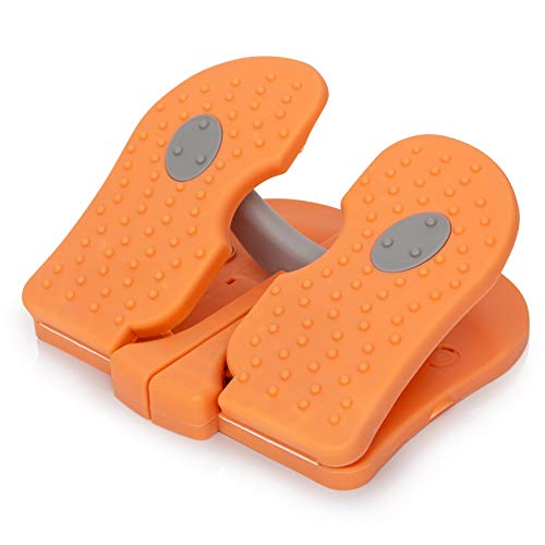 RAKU Foot Mini Steppers for Exercise - Burn Calories with The Aerobic Stair Stepper Exercising Equipment - Portable - Great for Home, Office, Travel