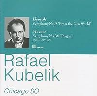 ドヴォルザーク:交響曲第9番『新世界より』、モーツァルト:交響曲第38番『プラハ』 クーベリック&シカゴ交響楽団