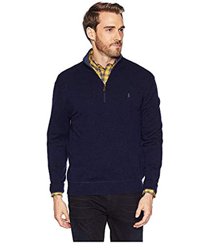 [Polo Ralph Lauren(ポロラルフローレン)] メンズウェア?ジャケット等 Washable Cashmere 1/2 Zip Sweater Hunter Navy US 2XL (2XL) [並行輸入品]