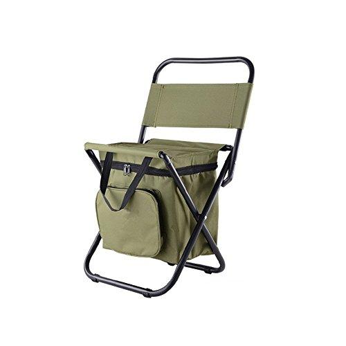 Nadalan Klappstühle im Freien Rucksack Stühle für Angeln Strand Camping Haus Ausflug