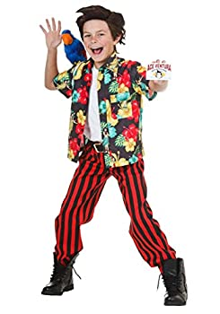 Child Ace Ventura Costume with Wig X-Large