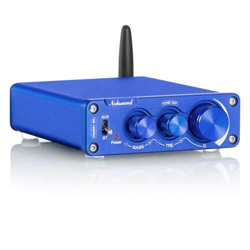 Nobsound NS-15G PRO CSR8675 Bluetooth 5.0 Amplificatore HiFi APTX-HD digitale PCM5102A Decodifica 100 W × 2 con alimentatore (Bluetooth 5.0 CSR8675)