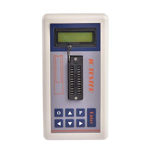 TSH-06F Transistortester, Transistorkondensatortester, Multifunktions-IC-Tester für integrierte Schaltkreise mit LCD-Digitalanzeige, automatischer NPN-PNP-Transistor-Detektor / 3,3 V / 5,0 V.