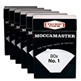 Technivorm #1 Coffee Filters for Cup-One Brewer (6 Count)
