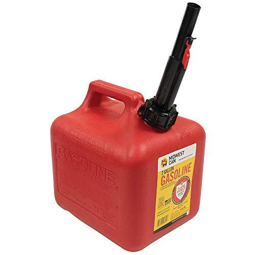 gas cans Midwest Can 2300 Gas Can - 2 Gallon Capacity