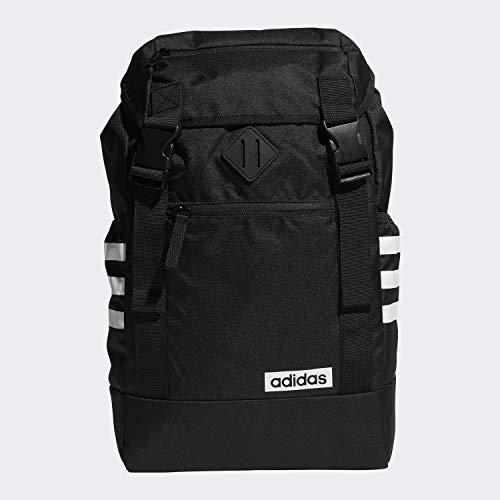 adidas Unisex Midvale Backpack, Black/White, ONE SIZE