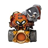 League of Legends LOL red Square Artillery Soldier Figure, Summoner Canyon Game Tide Play Model Toy Ornaments