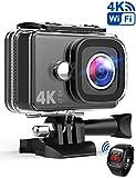TEC.BEAN Action Cam 14MP Wi-Fi 4K Ultra HD Fotocamera,...