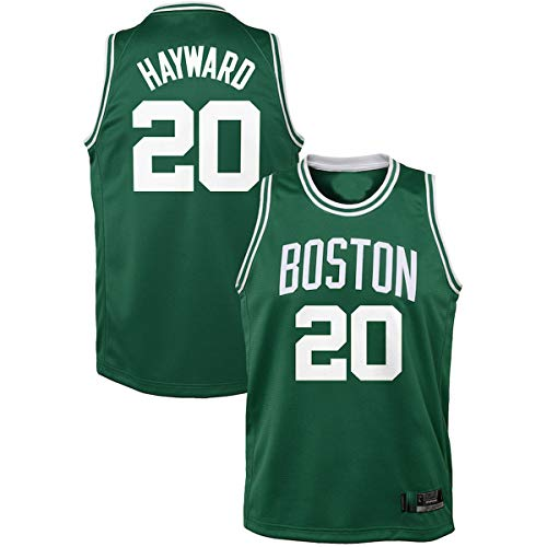 DODE Jerseys de entrenamiento de baloncesto al aire libre Gordon Boston NO.20 Verde, Celtics Hayward Youth Swingman Jersey regalos para niños-icono edición