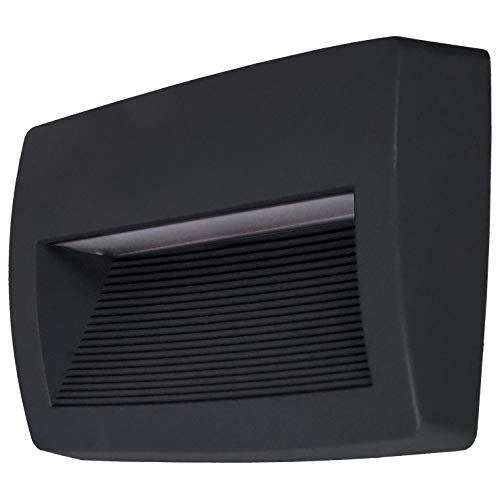 DOPO LIGHTING - Aplique de pared STORM negro R7s Led exterior IP55...