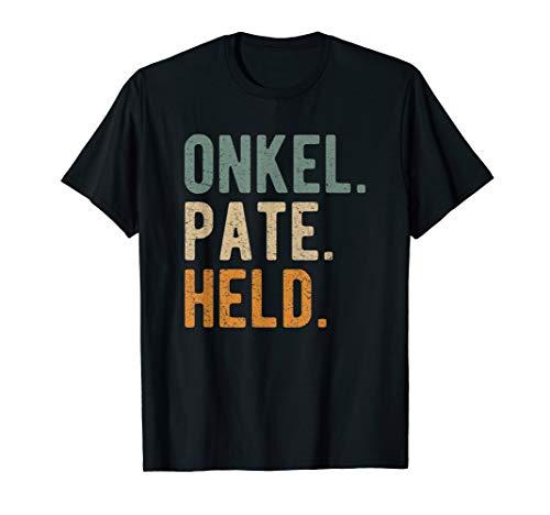 Herren Onkel Pate Held Patenonkel Geschenk T-Shirt