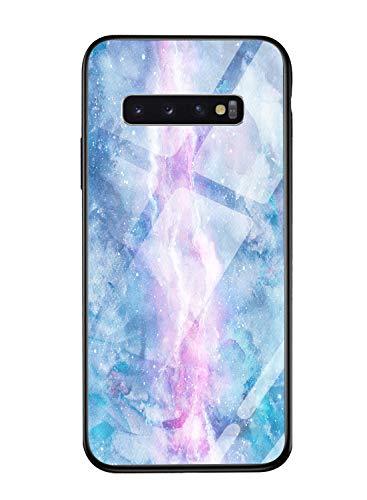 Suhctup Funda para Samsung Galaxy A80/A90 (Color Fresco Carcasa Samsung Galaxy A80/A90 [Ultra-Delgado] Silicona Suave Borde del Marco Bumper Trasera de Vidrio,Protectora Case Cover para Galaxy A80/A90