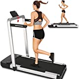 ANCHEER Treadmill,2 in 1 Folding Treadmill for Home,Under Desk Electric Treadmill,Foldable Running Machine Portable Compact Treadmill for Running and Walking Exercise