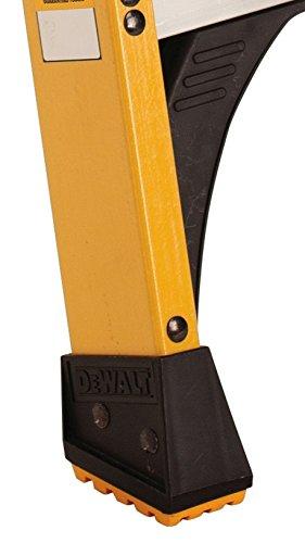 DeWalt DXL3410-04 4-Feet Fiberglass Stepladder Type IAA with 375-Pound Duty Rating, 4-Feet
