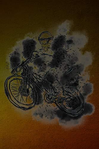 Notizbuch: Crossrad Cyclocrossrad Crossbike Mountainbike Cross Rennrad - Notizbuch oder Tagebuch für Rennradfahrer, Biker, Radler und Fahrrad Fans - Notizheft Klatte für Männer, Frauen und Kinder